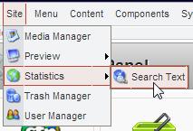 Statistics > Search Text